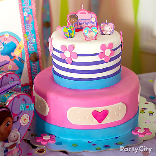 Doc McStuffins Fondant Cake How To