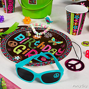 Hippie Chick Place Setting Idea