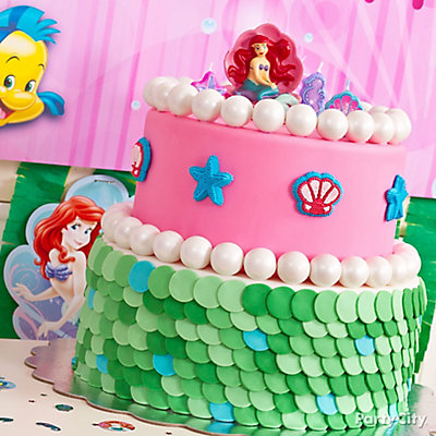 Little Mermaid Fondant Cake How To
