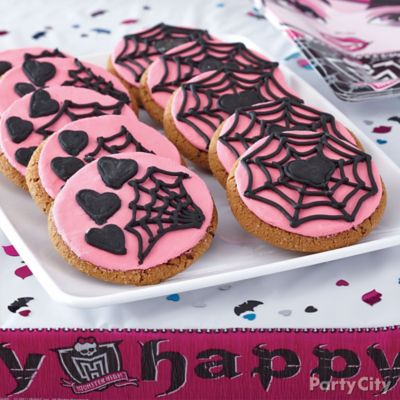 Monster High Cookies How To