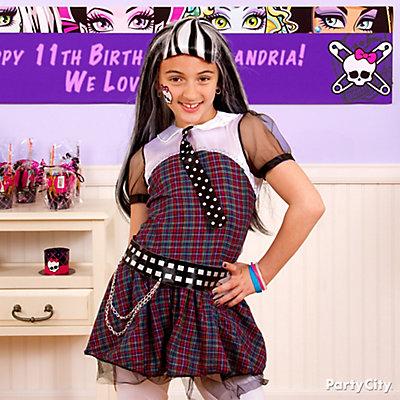 Monster High Frankie Stein Costume Idea