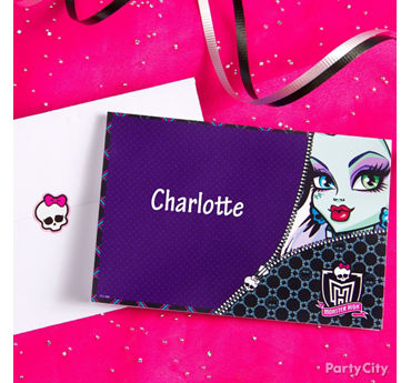 Monster High Thank You Note Idea