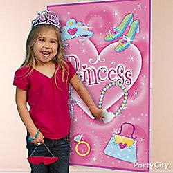 Princess Pin It Game Idea