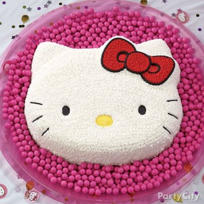 Hello Kitty Form Cake How To Party City