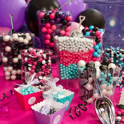 Rocker Girl Candy Buffet Idea