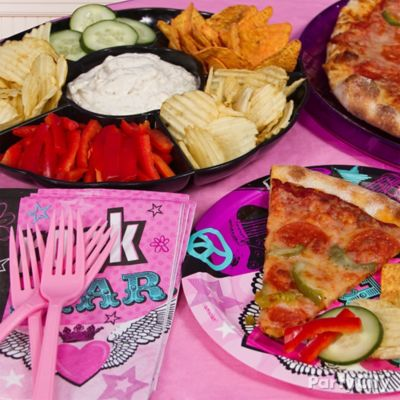 Rocker Girl Lunch Idea