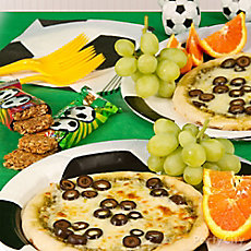 Soccer Ball Pizza Idea