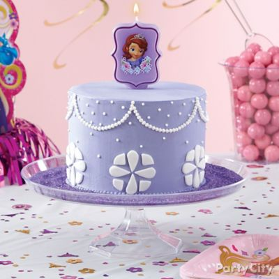 Sofia the First Cake How To