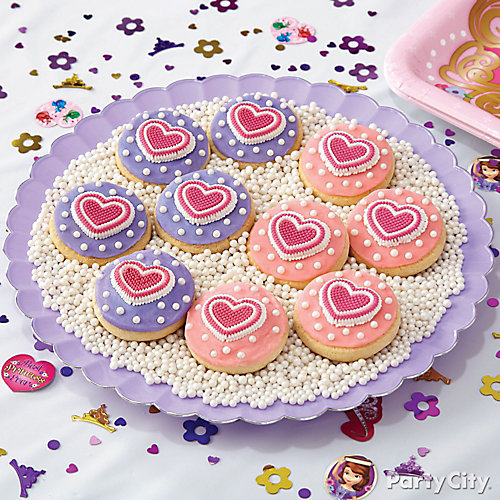 Sofia the First Cookies How To