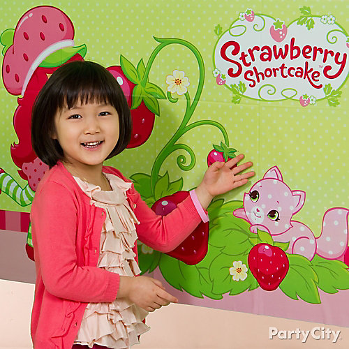 Strawberry Shortcake Pin It Game Idea