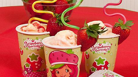 Strawberry Shortcake Smoothies Idea
