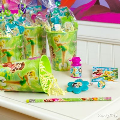 Tinker Bell Favor Cup Idea