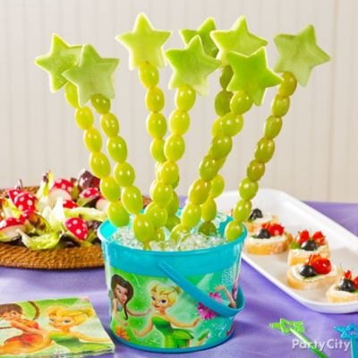 Tinker Bell Fruit Wands Idea