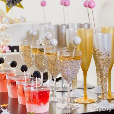 NYE Glitterbomb Glasses DIY