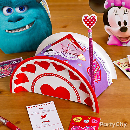 DIY Classroom Valentine Mailbox Idea