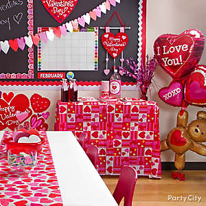 Valentine's Day Classroom Decorating Idea