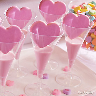 Valentine's Day Milk Cookies Idea