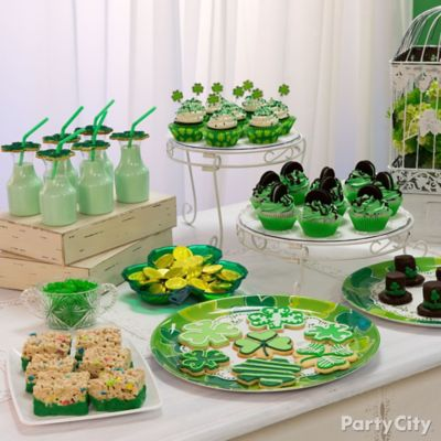 St. Paddy's Treats Table Idea