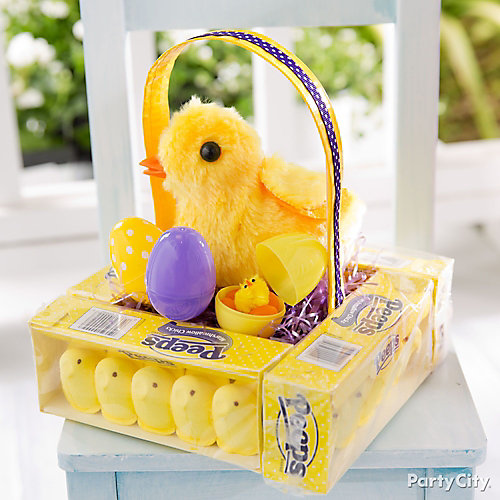 Peeps Box Easter Basket Idea