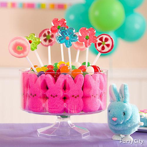 Easter Candy Bouquet Idea