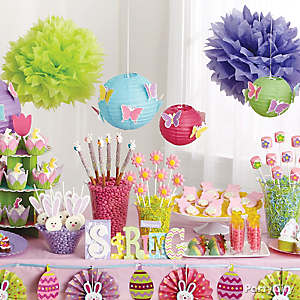 Spring Treats Table Idea