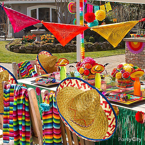 cinco de mayo party ideas cinco de mayo decoration ideas. Black Bedroom Furniture Sets. Home Design Ideas