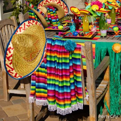 Mexican Party Chair Decorating Ideas