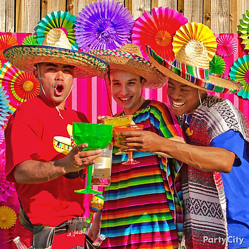 Mexican Party Giant Drinkware Ideas