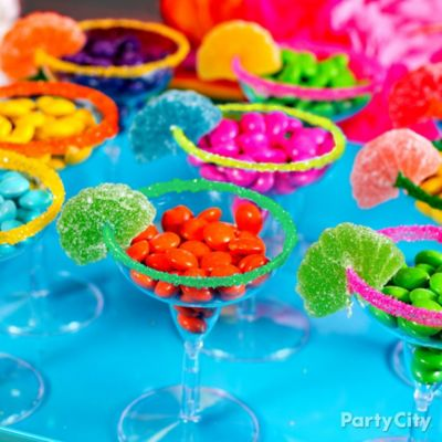 Mini Candy Margaritas Idea