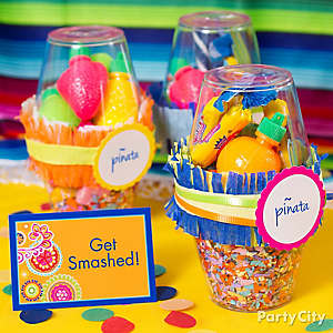 Mexican Party Pinata Favors Idea