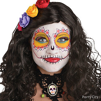 Day of the Dead Sugar Skull Makeup How To