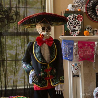 Day of the Dead Latin Gentleman Skeleton Idea
