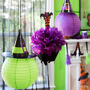 Halloween Cauldron Fully Decoration Idea