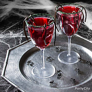 Halloween Black Widow Cocktail Recipe