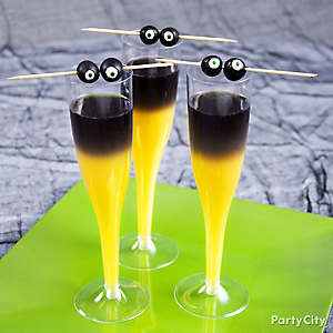 Halloween Goblin Mimosa Cocktail Recipe