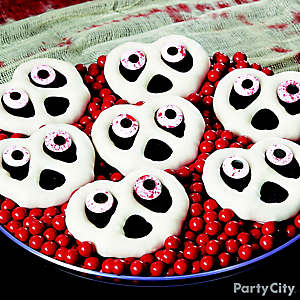 Scary Candy Ghost Pretzel Twists How To