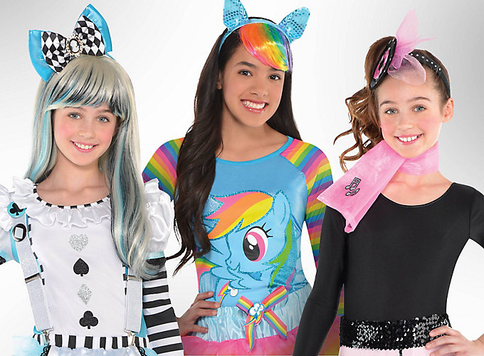 Top Girls' Halloween Costume Ideas