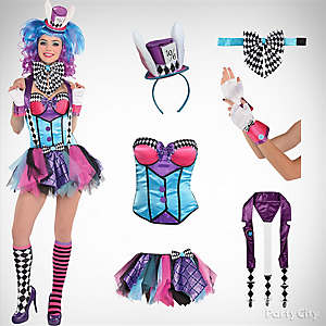 Women's Mad Hatter Costume Idea