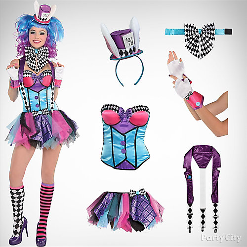 womens mad hatter costume idea - Mad Hatter Halloween Costume For Kids