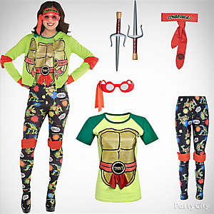 Women's TMNT Costume Idea