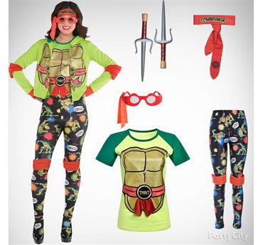 Women's TMNT Costume Idea