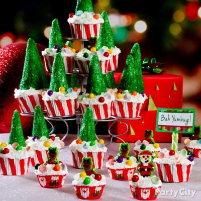Christmas Tree Cupcake Idea