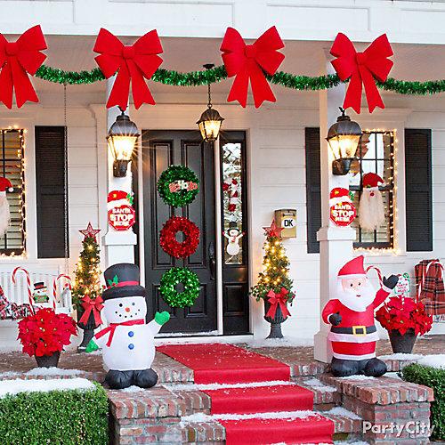 christmas outdoor decorating ideas winter wonderland christmas