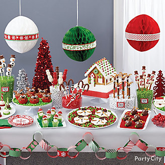 Christmas North Pole Treats Table Idea