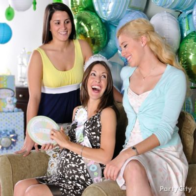 Baby Shower Spin the Baby Bottle Game Idea