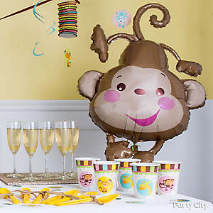 Jungle Theme Baby Shower Decorations Idea