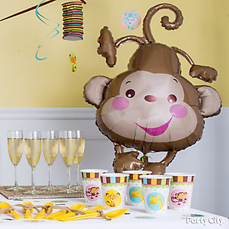 Jungle Theme Baby Shower Decorations Idea