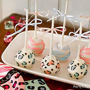 Gender Reveal Cake Pops Idea