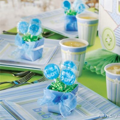 Baby Shower Place Settings Idea