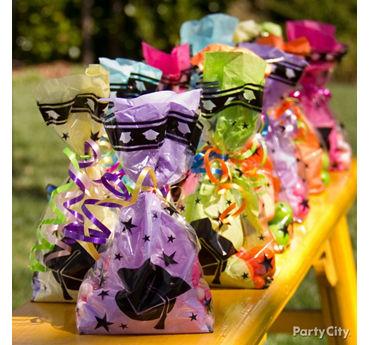 Colorful Grad Party Favor Idea